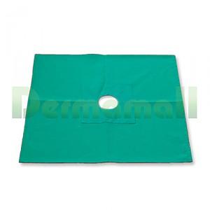 공포 1P, 30*30(구멍크기(원지름 7센치), Green)