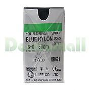 나이론봉합사 (Nylon) 6/0-13mm (NB621)