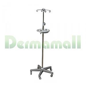 링겔대 (IV Pole) 이동식, 5발 (원형손잡이, 수납대 포함)