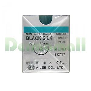 블랙실크 7/0-11mm/50cm (SK717)-각침